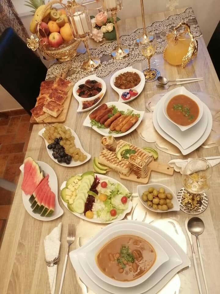 Table Algerienne مائدة أكل جزائرية Recipes Food Algerian Recipes