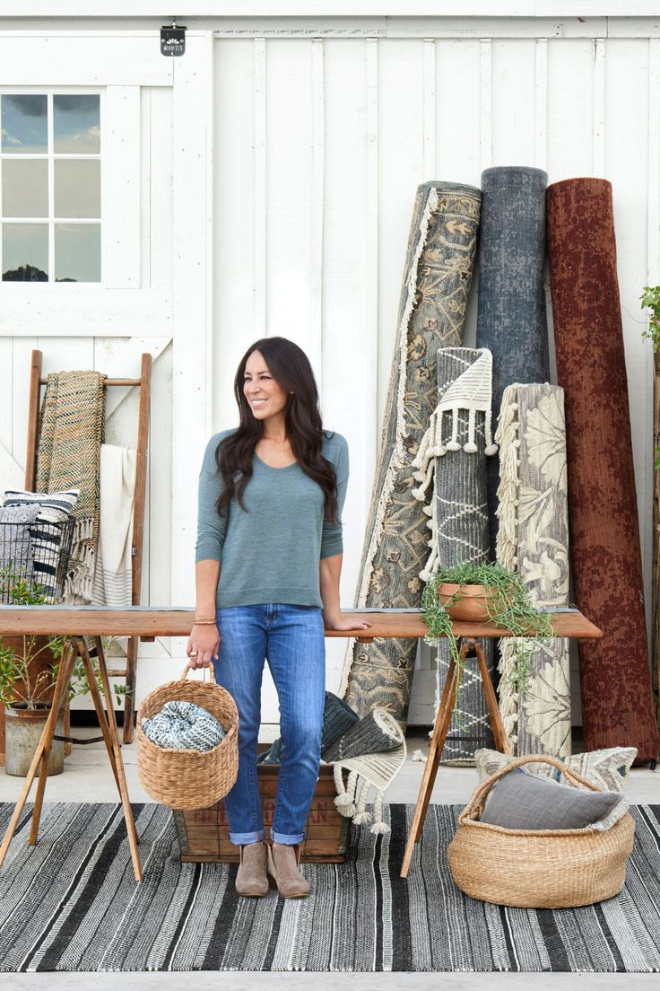 Transform your home with one of the new Magnolia Home by Joanna Gaines rugs, pillows and throws. Available to purchase on magnoliamarket.com or in-store at retailers nationwide.