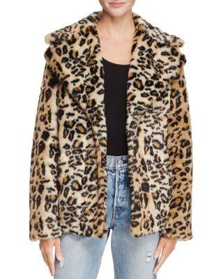 3421e3637059 AQUA LEOPARD PRINT FAUX FUR COAT - 100% EXCLUSIVE. #aqua #cloth ...