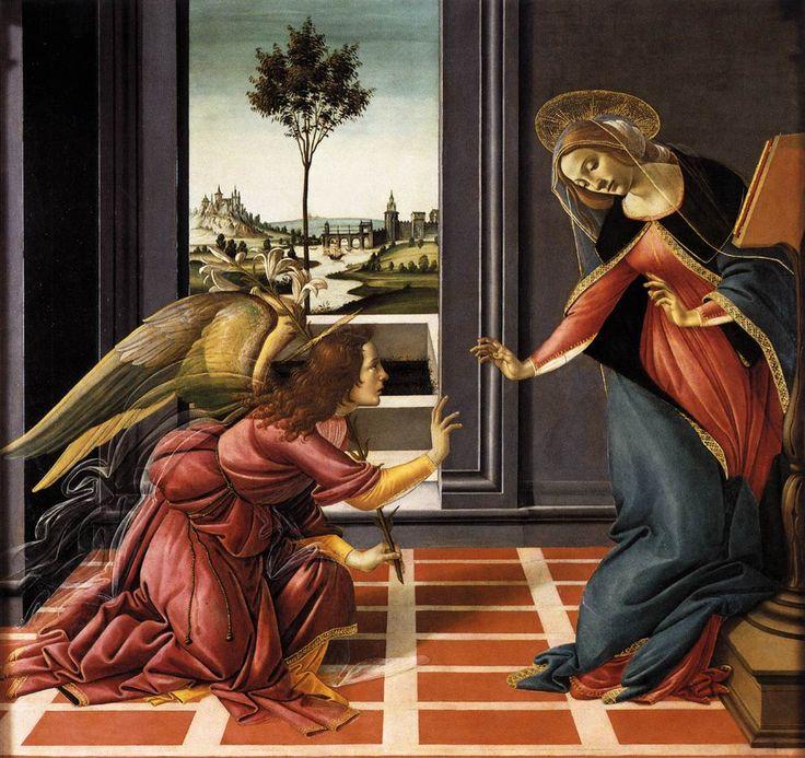 LAnnonciation du Cestello, 1489-1490