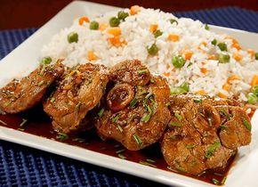 Receta de Chuletas de pavo en salsa de maracuyá y miel en TQMA de Pronaca