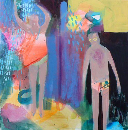 becky blair * artist - paintings: salty skin