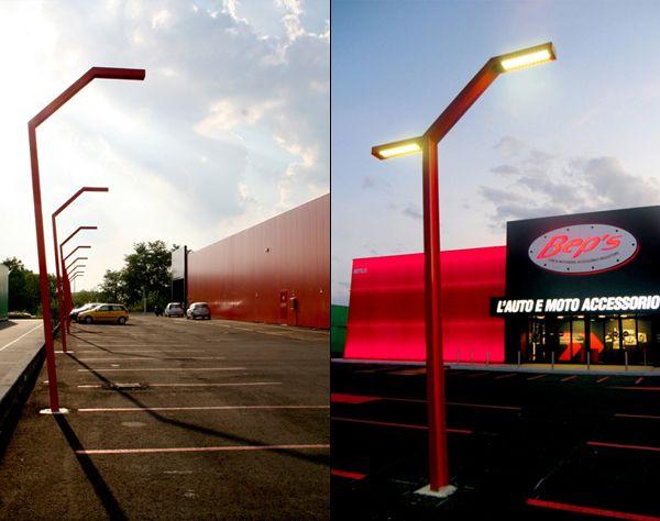 B Light Street Lamp Design By Labit Architetti Amp Studio Fuxia Lamp Design Street Lamp Street