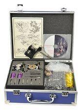 Rotary Tattoo Kit 3 Gun Tattoo Machine Kit Complete with Tattoo Power Supply ...
