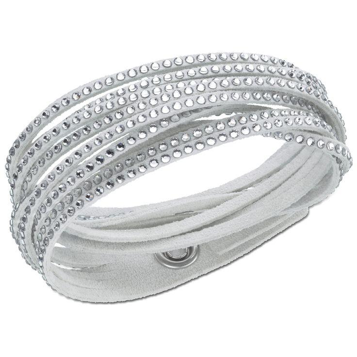 @Swarovski Sparkling Gifts: Slake Bracelet, Gray #Moments2Give