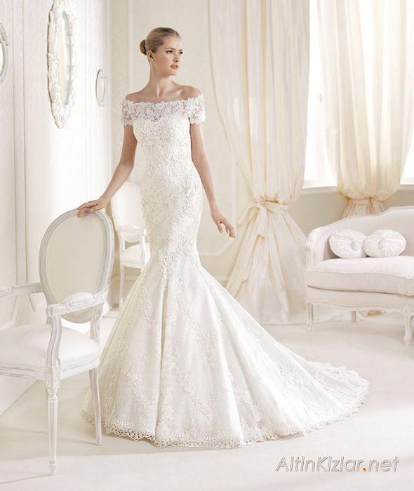 46 besten Gelinlik Modelleri Bilder auf Pinterest | Hochzeitskleider ...