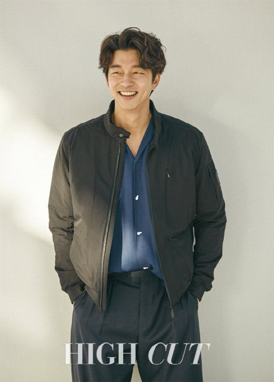 Gong Yoo takes it easy for 'High Cut' photoshoot | allkpop.com