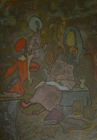 "Saatchi Art Artist Alexandru Ilea; Painting, ""Musicians - after Rembrandt"" #art"