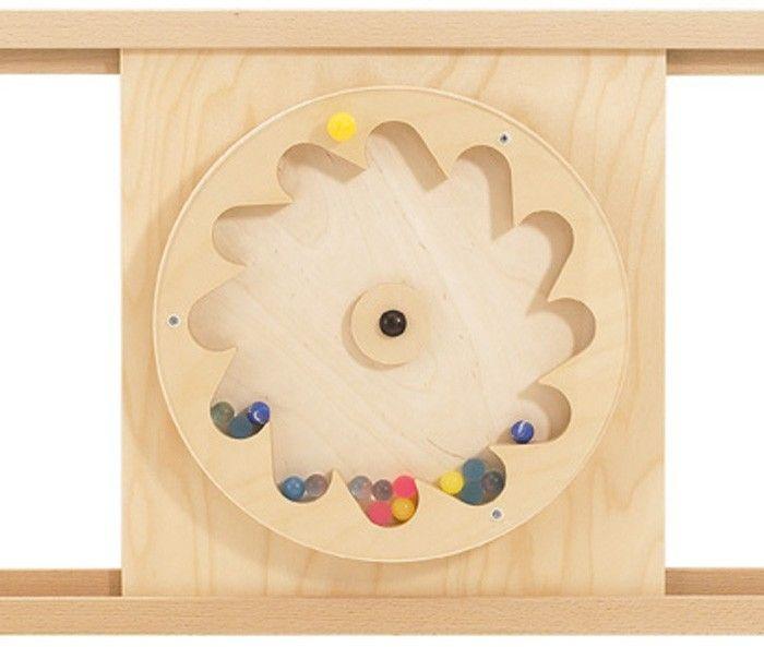 Haba Sensory Wall Gear Wheel With Rubber Balls 120393
