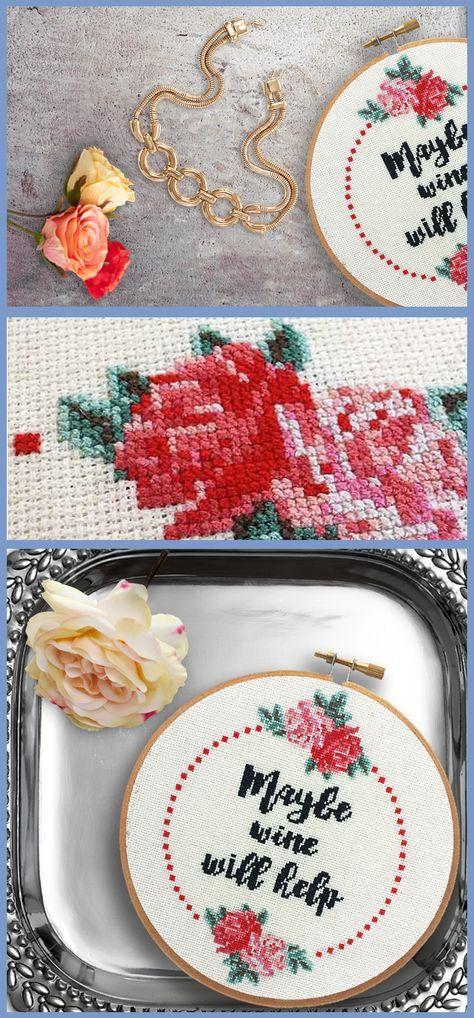 Say hello to your new subversive cross stitch.                                                                                                                                                                                 More