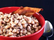 Southern Black Eye Peas Recipe - great recipe, but it's going to be a challenge to find hog jowl in southern New England.