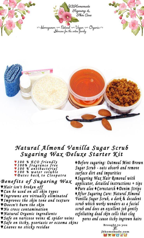 Hair Removal DIY Sugar Wax For Unwanted Hair Sugaring