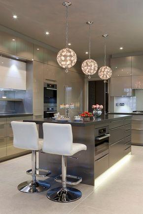 Grey? und weiße Küche Design-Ideen Küche Ideen minimalistisch - ideen für küchenwände