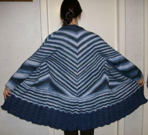 Мой любимый реглан на четыре угла - 2. / Вязание спицами / Вязание спицами. Работы пользователей
