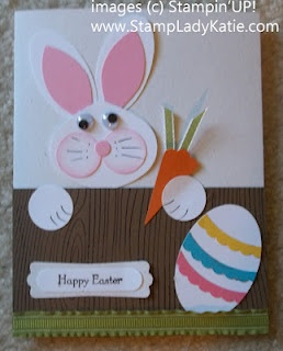"""This time I added an Easter Egg. My Blog actually has the """"recipe"""" card for both the bunny and the egg."""