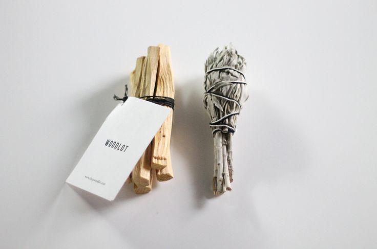 Palo Santo and Sage bundle for at home smudging | Rogue Wood blog