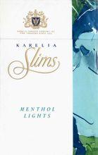 KARELIA Slims. MENTHOL LIGHTS