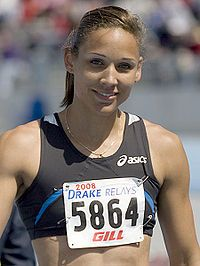 Lolo Jones - This is one inspiring woman! If you have never seen a documentary of her life, you should watch it one day.