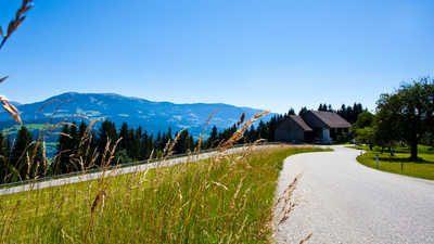 Альпийская панорамная дорога в Австрии - поехать на велосипеде