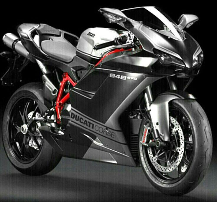 Ducati 848...... Dreaming...
