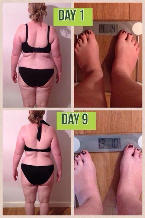 Another amazing journey. This lady lost over a stone!!! In just 9 days!!!