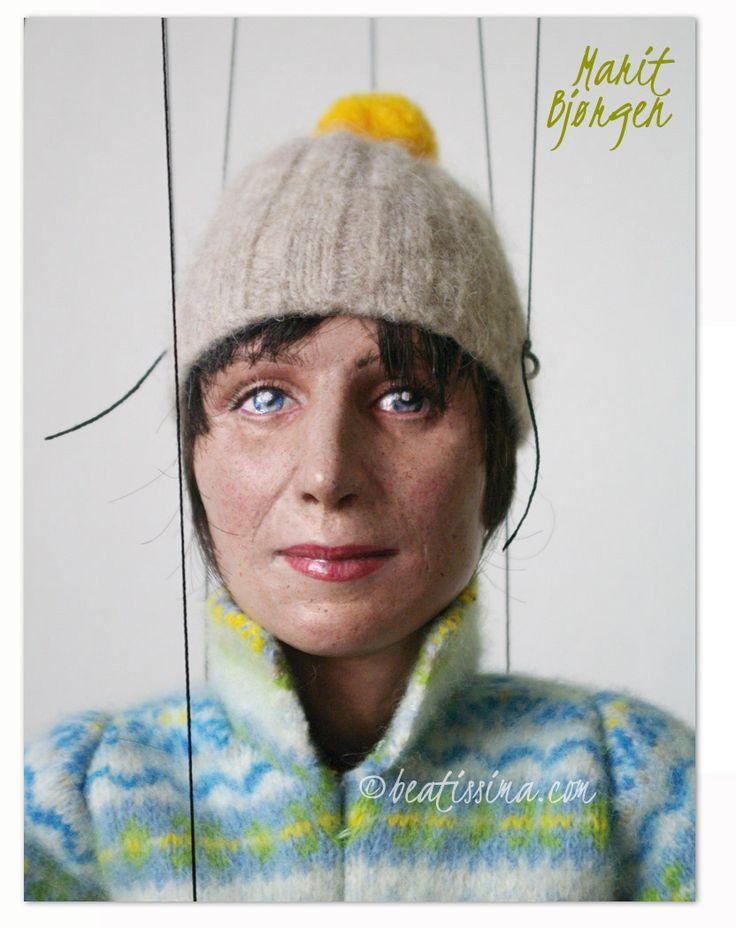 Lalka artystyczna - dreamdoll.pl, lalka portretowa, portret narciarki z Norwegii autorstwa Bei Ihnatowicz.   Portrait doll, art doll, a puppet of a skier Marit Bjørgen. Lalka portretowa, lalka artystyczna, portret narciarki Marit Bjørgen.