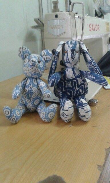 GaleriBatikJawa#TeddyBear&Rabbit