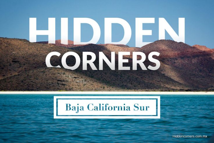 The best places to visit in Baja California Sur. These hidden corners will blow your mind. Mexico is really full of secrets.