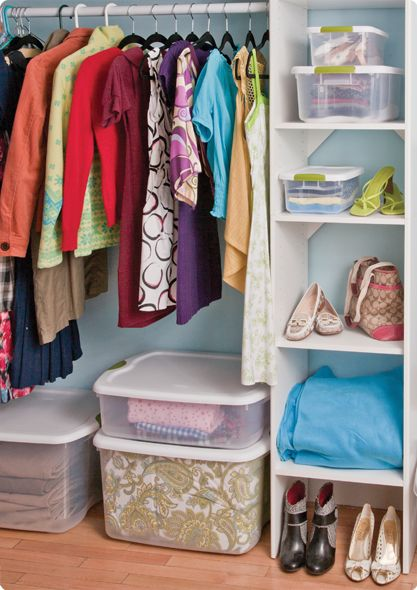 Featured Tip : De Clutter With These Sterilite Helpful Solutions! Dorm Room  StorageCloset OrganizationOrganizationOrganizingStorage ContainersOrganized  ... Part 91