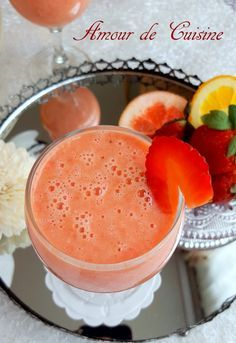 smoothie brule graisse a la pamplemousse 1