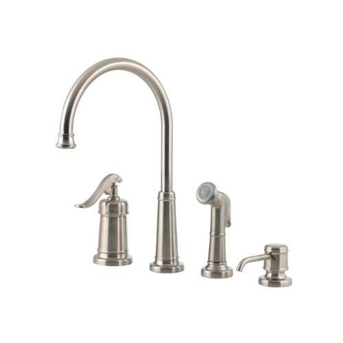 pfister gt26 4ypk ashfield 4 kitchen faucet in