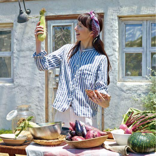 サニークラウズ 庭師の麻シャツ〈レディース〉の会 | フェリシモ