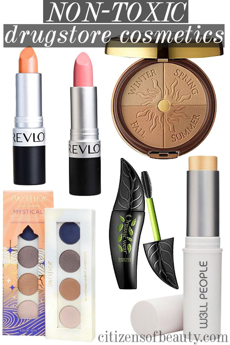 non-toxic drugstore makeup products