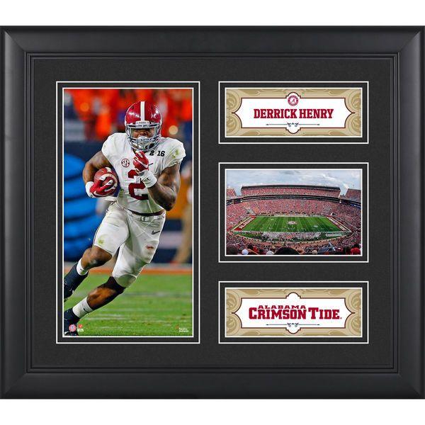 "Derrick Henry Alabama Crimson Tide Fanatics Authentic Framed 15"" x 17"" Collage - $49.99"