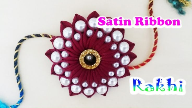 Easy Rakhi making