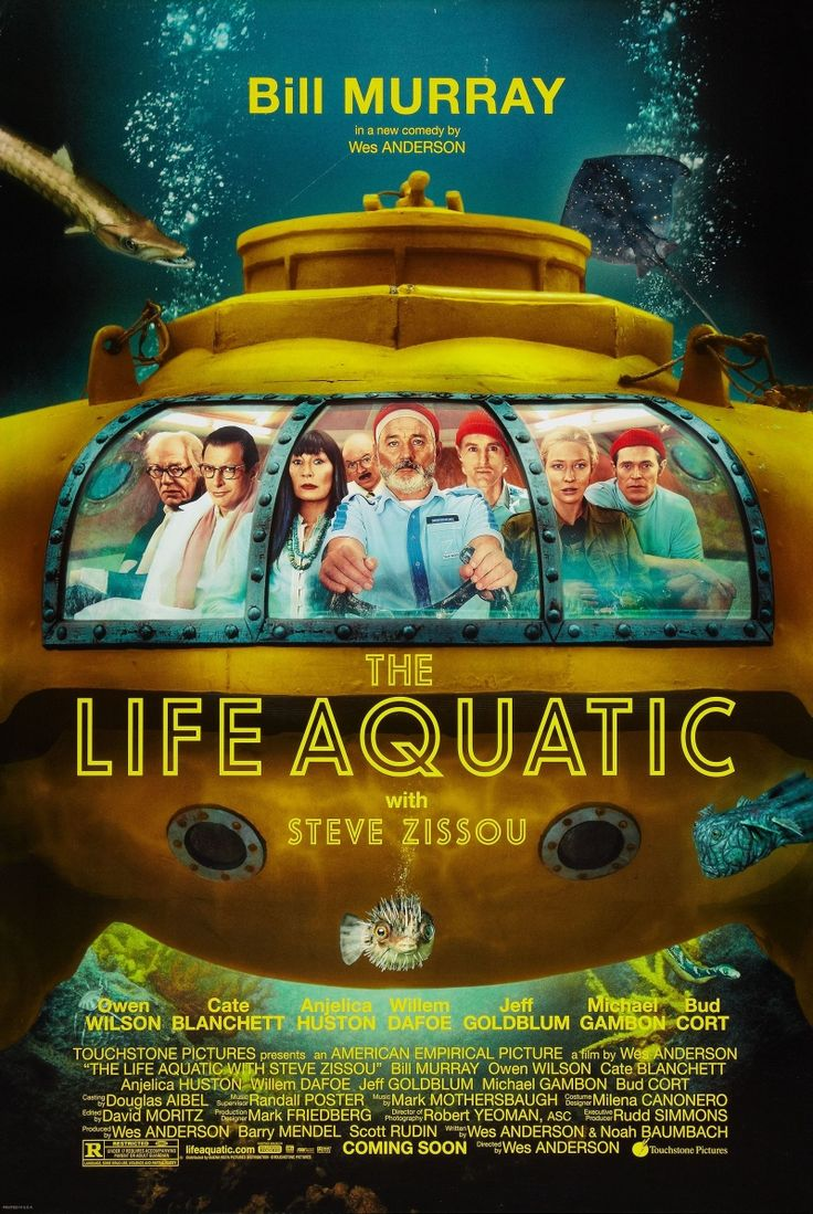 Wes Anderson - the life aquatic with steve zissou
