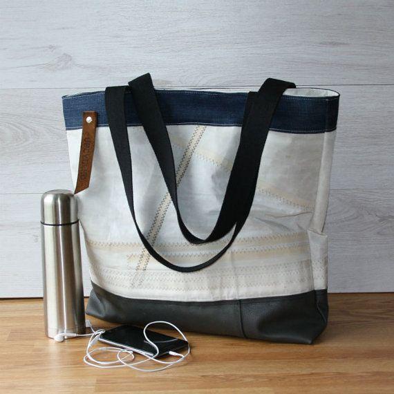 Sail bag upcycled bag old sail bag xxl bag sail tote