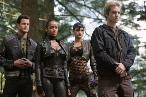 Eric Dane, Aaron Stanford and Dania Ramirez in X-Men: The Last Stand