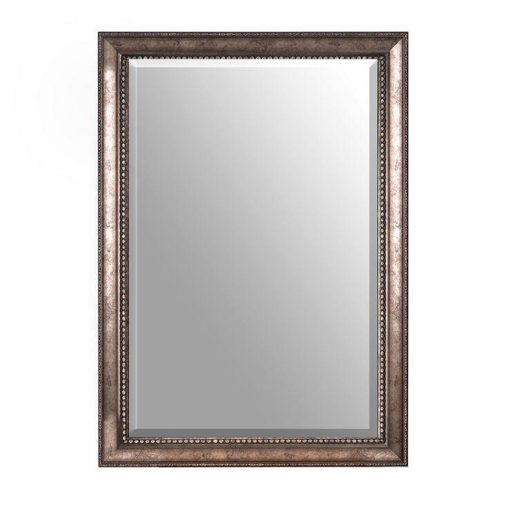 Antiqued Silver Framed Mirror, 30x42 in. | Kirklands Dining Room