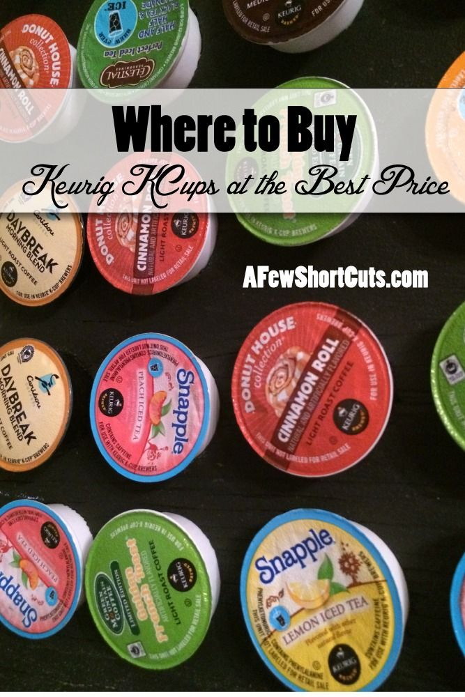 where to buy keurig kcups at the best price