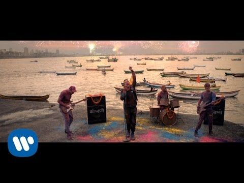 Coldplay & Beyonce - Hymn For The Weekend (Music Video).