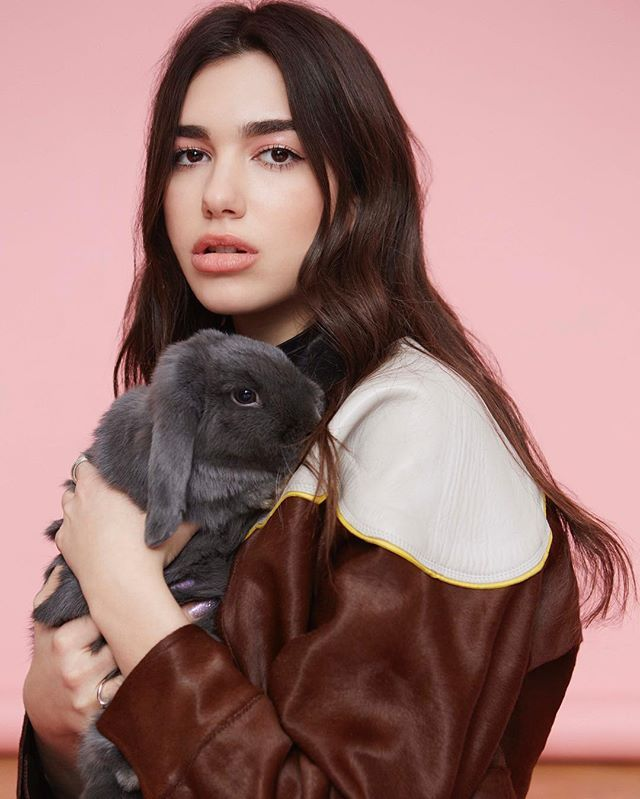 Dua Lipa is an English singer, songwriter, and model. Her musical career began at age 14, when she began covering songs by other artists on YouTube. In 2015, she was signed with Warner Music Group and released her first single soon after. In December 2016,