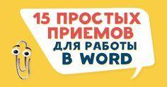 Microsoft Word — программа, без которой не обойтись в современном мире. Но многие люди даже не догадываются о некоторых полезных возможностях этого текстового редактора.