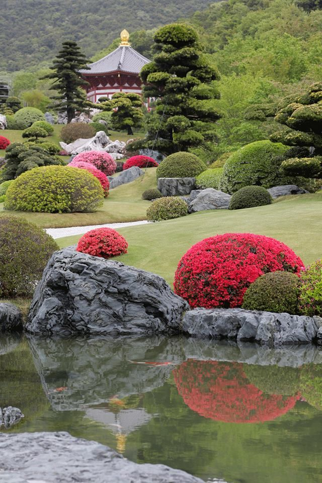 The Royal Grand Hall of Buddhism Japanese garden