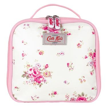 Cute compact lunch bag: fits into children's rucksacks & has a name tag on the back so shouldn't go missing.