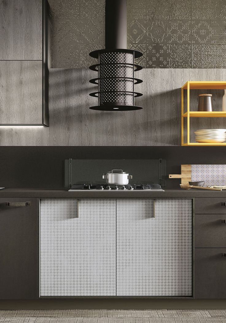 Loft Is The Expression Of The Latest U201curbanu201d Trends; A Modern Kitchen Design