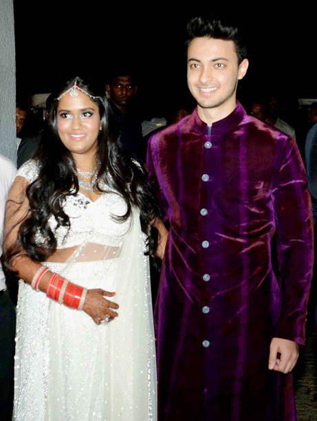 #Arpita and #Ayush after the #wedding