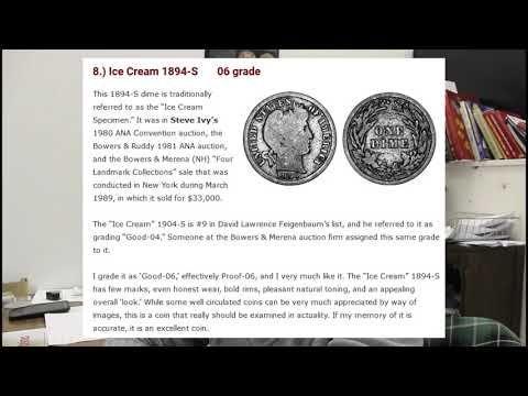 Million Dollar Dime - 1894 S Barber Dime Proof | coin | Rare