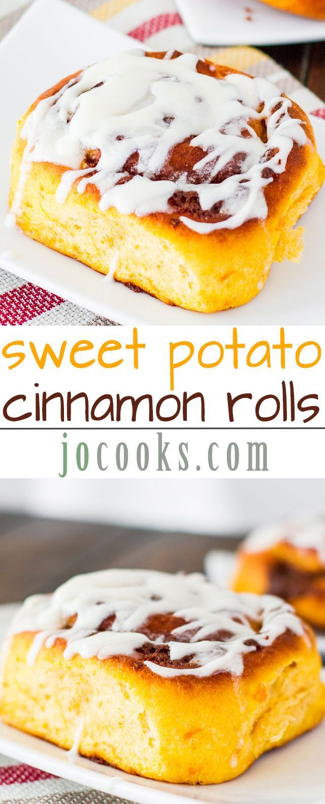 Sweet Potato Cinnamon Rolls – the most tender, soft and delicious cinnamon rolls, a perfect use of sweet potatoes.
