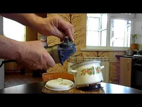 Мельница из болгарки - YouTube
